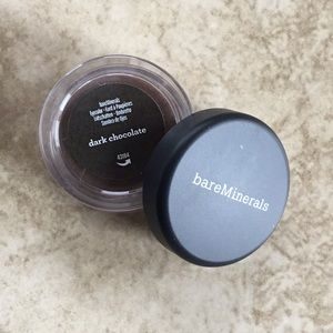 3 for $10 bare minerals dark choc eye shadow